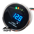 "Original Logo 20PCS Analog LED Digital 52mm / 2"" Exhaust Gas Temp EGT Gauge With Sensor"