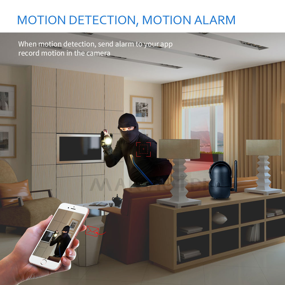 Wireless Baby Monitor With Night Vision Camera To check your baby from the monitor screen 4