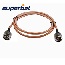 Superbat – adaptateur de prise de Type N vers connecteur mâle, câble Coaxial RG400, wi fi de 1M