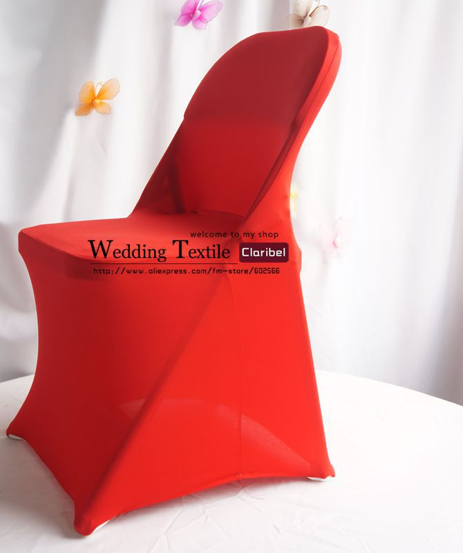 Wholesale Free Shipping New Arrival Red Folding Spandex Chair Cover, Use  For All Standard Folding Chairs, 100colors In Chair Cover From Home U0026  Garden On ...