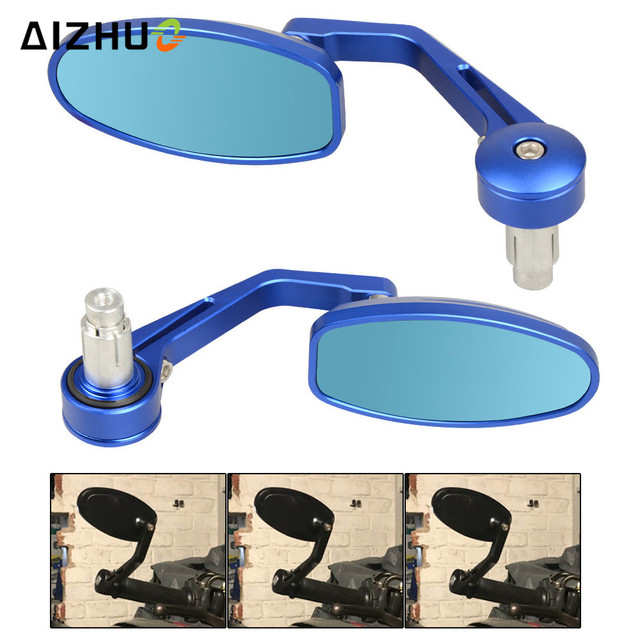 Universal 22MM Rear View Mirrors Handle Grips Bar End Mirror FOR BMW R1200R R1200RT R1200S R1200ST DUCATI 1299 899 959 Panigale