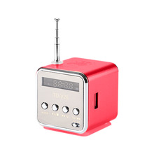 Vapeonly TD-V26 Mini Speaker Portable MP3 Music Player with LCD Support FM Radio Micro TF SD Stereo Loudspeaker for Laptop Phone