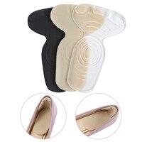 1 paire semelle orthopédique en forme de T antidérapant coussin pied talon protecteur doublure chaussures tampons