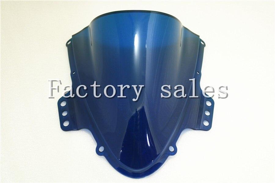 Кольцо для Suzuki GSXR1000 K5 2005 2006 синий лобового стекла ветрового Double Bubble 1000R GSXR 1000 R 05 06 GSX 1000R