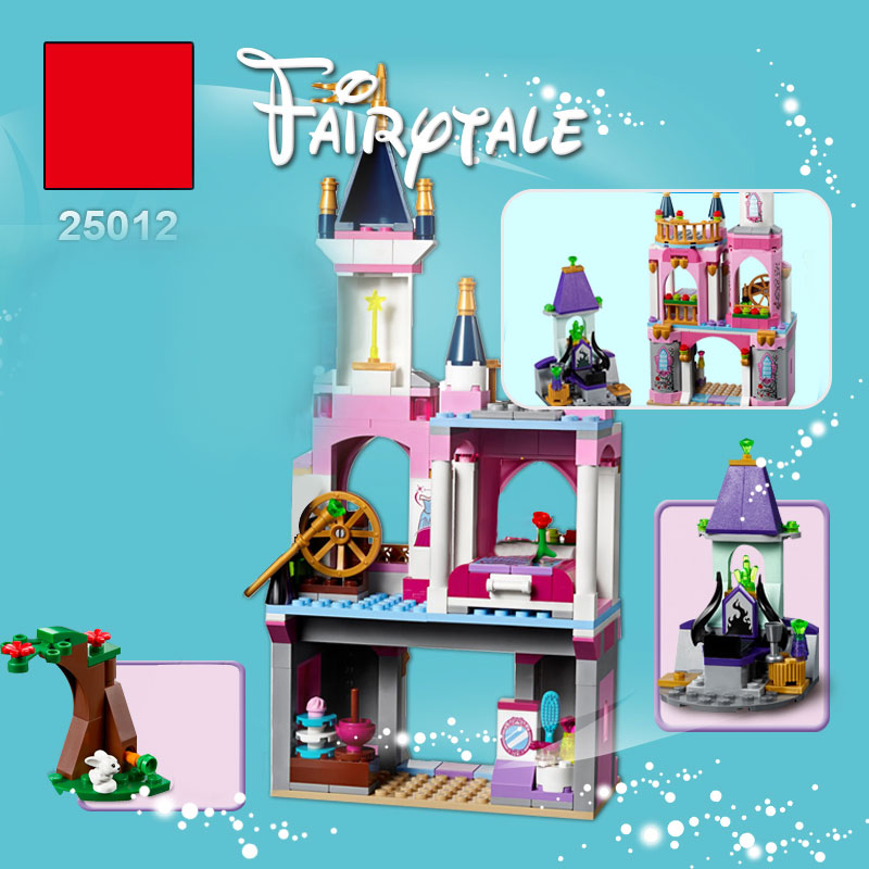 Lepin 25012 Gril Series The LegoING 41152 Sleep Beauty`s Castle Set building Blocks Bricks Funny Toys For Kids as brithday Gifts new lepin 01018 515pcs girl series castle educational building blocks bricks toys gril toy