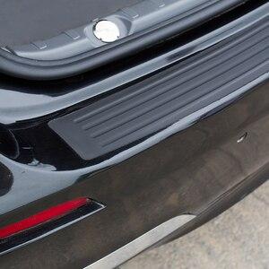 Image 3 - Автомобильный Стайлинг, резиновый Задний защитный бампер, защитная накладка, накладка, протектор порога для Skoda Octavia A7 Fabia Superb B6 Yeti
