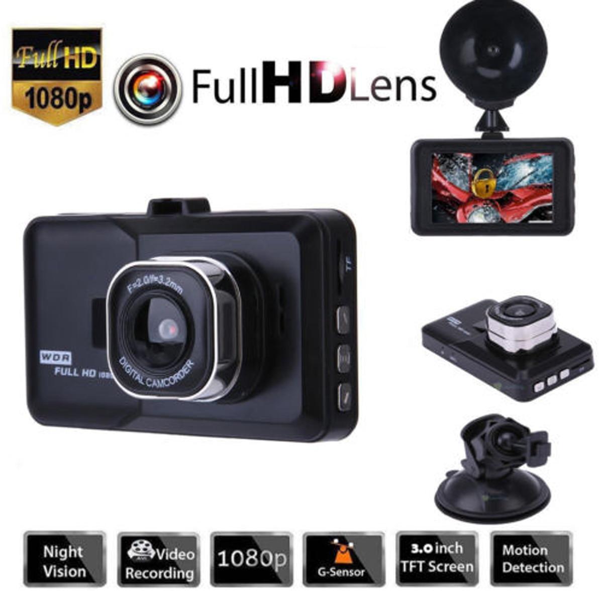 170 ° Ciclo de Gravação DVR Carro Gravador De Vídeo G Sensor De Visão Noturna HD 1080P Câmera Veículo Cam Traço