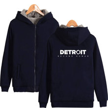 Detroit Become Human Unisex Winter Hoodie
