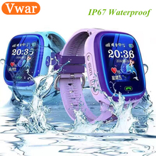 DF25 GW400S Child Smartwatch IP67 GPS Touch Phone smart watch SOS Call Location Device Tracker Kids Safe Anti-Lost Monitor Clock
