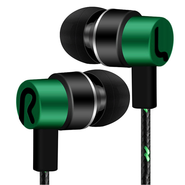 Universal Stereo Earphone with Microphone