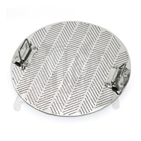 Slit False Bottom 345mm 2 Mm Thickness Cut Size 0 8mm With Handle Stainless Steel 304