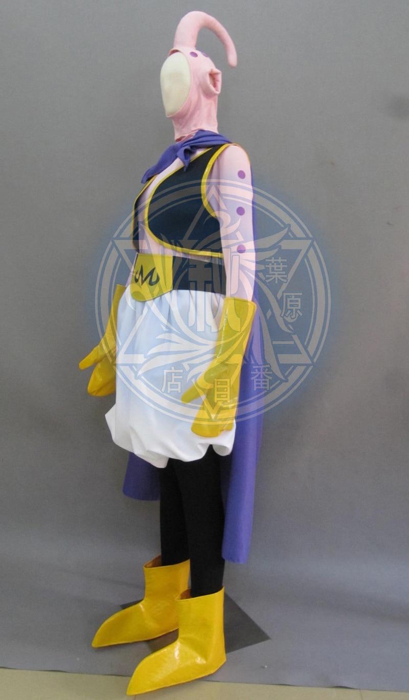 Free Shipping Dragon BallZ Majin Boo the fat Boo Anime Cosplay Costume
