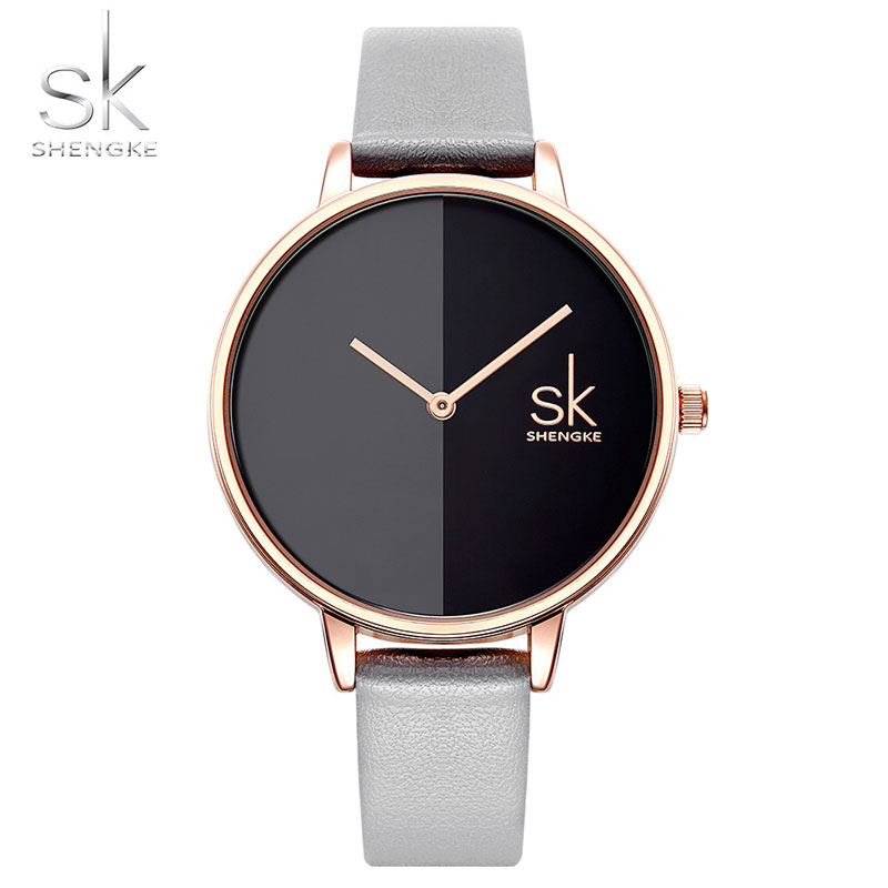 bff64535549 ... Relogio feminino. SK Quartz Watch Women Ladies Fashion Luxury  Wristwatch Top Brand Famous Female Clock Wrist Watch Montre