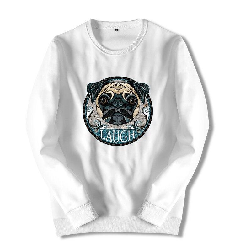 Athlemon Модный свитшот для Для мужчин Собака печати Bape Флисовые толстовки с длинным рукавом смешно с пуловер оверсайз белый балахон hlc25