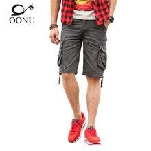 OONU 2017 Heißer Sommer-männer Armee camouflage Lässige bermuda fracht Männer Shorts Fashion Jogger Gesamt militärische Hosen JD01