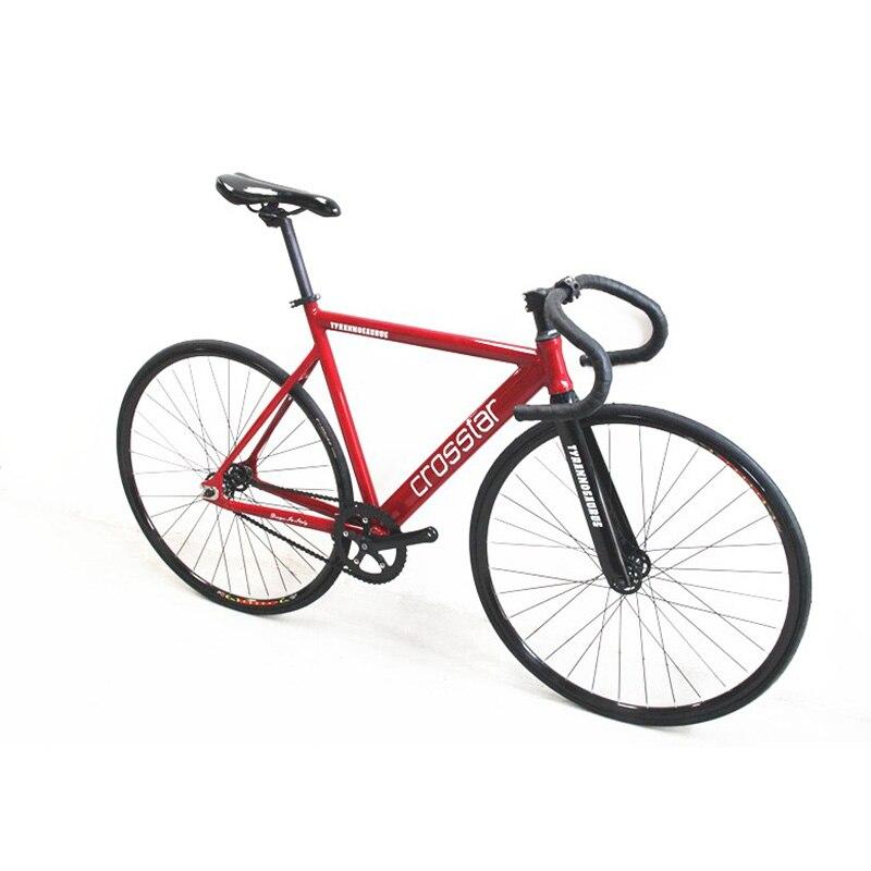 700C bike frame 53cm 55cm 58cm TYRANS T2 fixie Aluminum Alloy FRAME+ ...