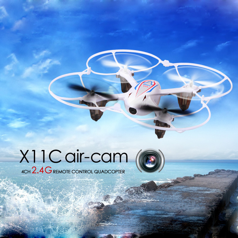 SYMA X11C Mini Drone Quadcopter Drones with Camera HD 2.0MP 2.4G 4CH 6-Axis Gyro RC Helicopter Quadrocopter Drone with Camera
