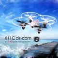 SYMA X11C Mini-quadcopter Zangão Drones com Câmera HD de 2.0MP 2.4G 4CH 6-Axis Gyro RC Helicóptero Quadrocopter Zangão com câmera