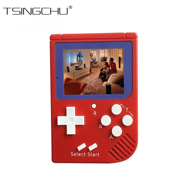 TSINGO TV Output Video Game Console Built-in 129 Classic No Repeat Games Retro Mini Pocket Handheld Game Player Best Kids Gift classic retro game console upgraded