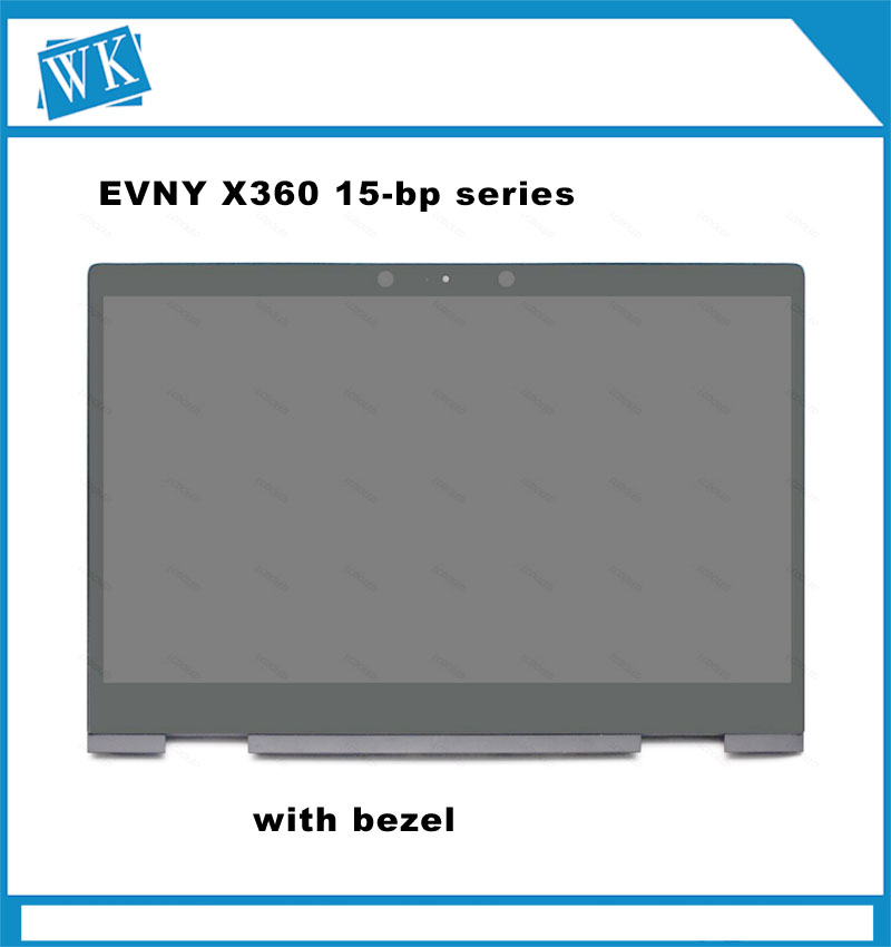 Ips Led Lcd Display Touch Screen Digitizer Assembly Bezel For Hp Envy X360 15-bp000 15-bp100 15m-bp000 15m-bp103ur 15t-bp Laptop Accessories
