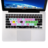Functional Final Cut Pro X Shortcut Silicone Keyboard Cover Skin For Macbook Air 13 Inch Pro