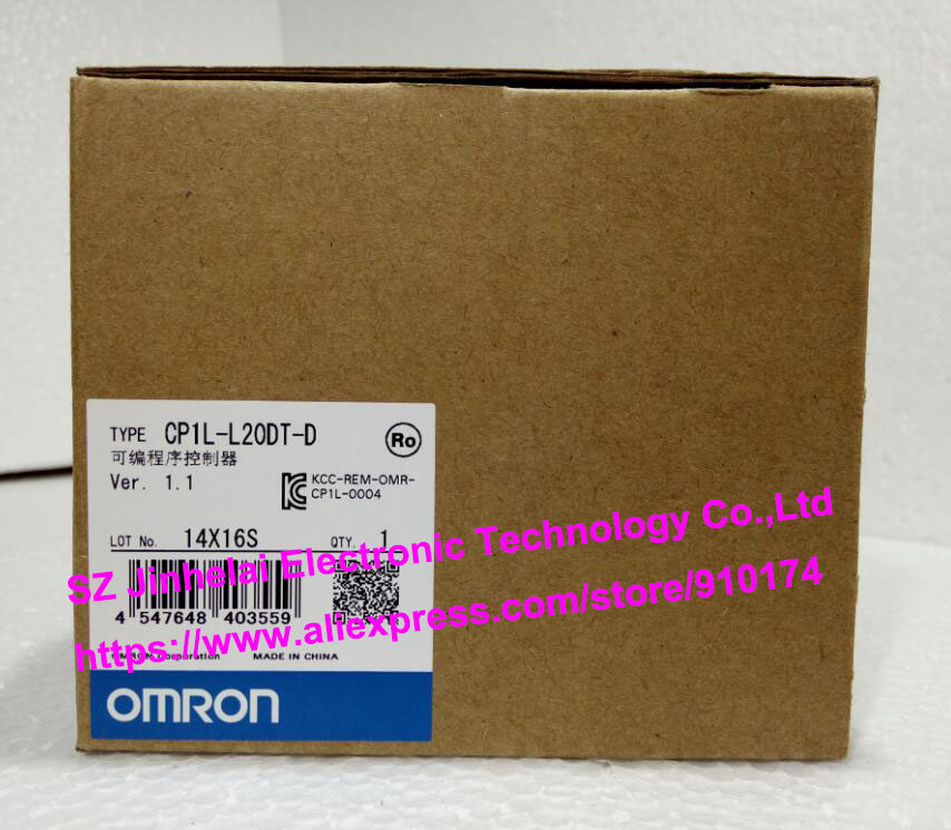 100% New and original  CP1L-L20DT-D  OMRON PLC CONTROLLER [zob] 100% new original omron omron proximity switch e2e x10d1 n 2m
