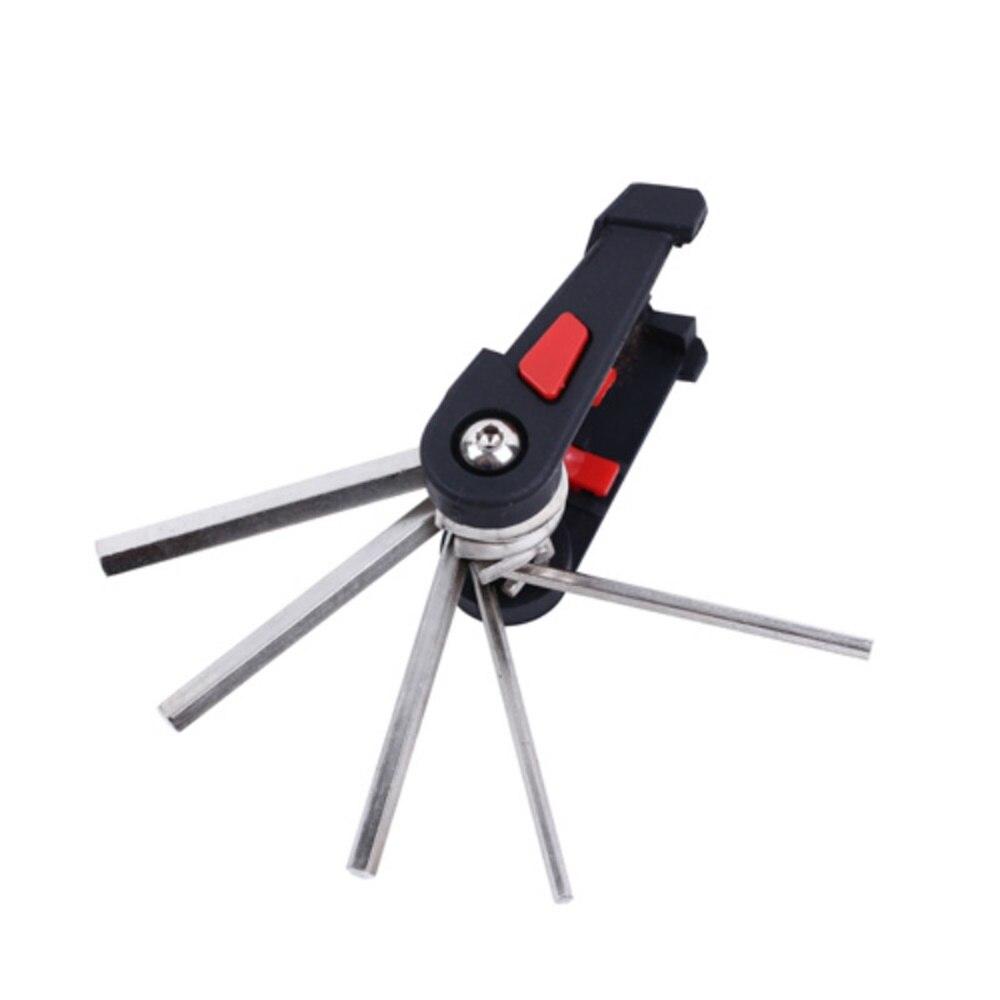 Купить с кэшбэком SPORTSHUB 9.5*3.8*3.8CM 15 In 1 Bike Portable Multifunction Bicycle Repair Tools Steel Alloy/Advanced ABS C0022
