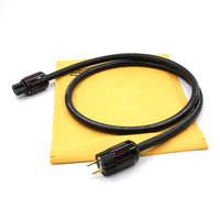 Free Shipping moonsaudio Hexlink Golden power cable audio power cable with P 079E/C 079 connector