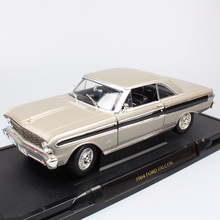 Road Signature Classics 1:18 1964 FORD FALCON vintage car metal die cast scales model cars vehicle toy miniatures gift for kids