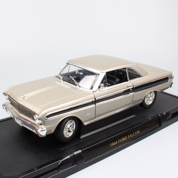 Road Signature Classics 1:18 1964 FORD FALCON vintage car metal die cast scales model cars vehicle toy miniatures gift for kids 1 43 scale mini yat ming classic 1957 ford ranchero falcon fairlane coupe metal die cast pickup pick up truck van car model kids