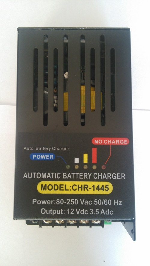 CHR-2685 automatic float charger, battery charger 24VDC 3.5A