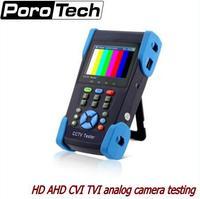 3,5 дюймов HD коаксиальный камера тестер CCTV мониторы AHD CVI TVI 1080 P тестирование аналоговой камеры PTZ управление 12 В в выход