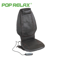 POP RELAX DC12V Car Home Use Massage Cushion Electric Heating Shiatsu Mobile Rolling Vibrating Back Massager