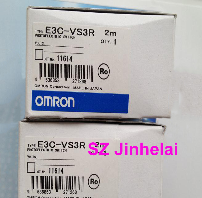 Authentic original E3C-VS3R OMRON Photoelectric switch sensor 2M original sensor e3c jc4p