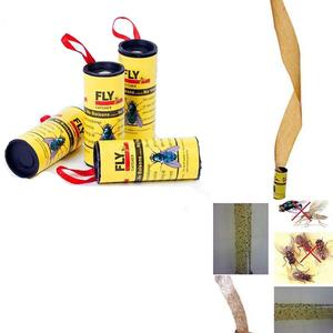 Image 4 - Sticky Fly Linten Roll Dual Zijdig Vliegt Papier Strips Insect Bug Home Lijm Flytrap Catcher Bug Mosquito Killer