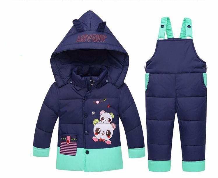 New Winter Kids Baby Girl Boy Toddler Snow Ski Suits