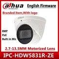 Dahua IPC-HDW5831R-ZE 4K 8MP POE 2,7 мм ~ 12 мм Моторизованный объектив IR50m IP67 камера безопасности sd-карта Встроенный микрофон IPC-HDW5231R-ZE