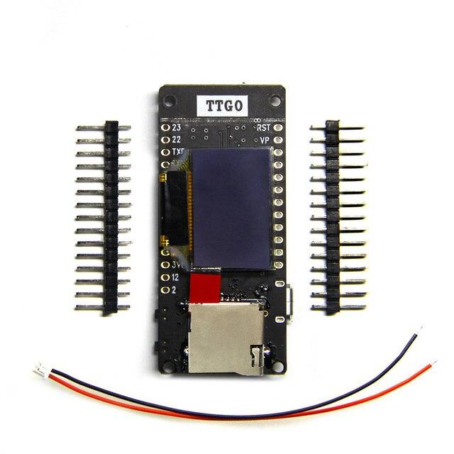 TTGO ESP32 T2 0.95 OLED SD כרטיס WiFi + Bluetooth מודול פיתוח לוח