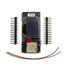 Ttgo esp32 t2 0.95 oled cartão sd wifi + placa de desenvolvimento do módulo bluetooth