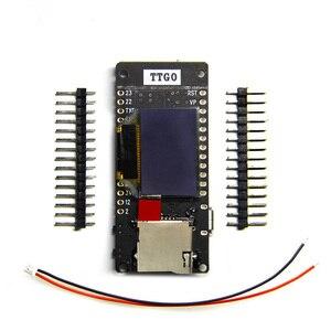 Image 1 - Ttgo esp32 t2 0.95 oled cartão sd wifi + placa de desenvolvimento do módulo bluetooth