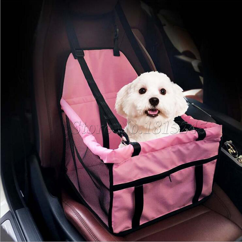 Pet Booster Seat >> Portable Pet Booster Seat Car Dog Carrier Mesh Waterproof Sided