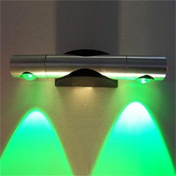 Gweat 2W Modern LED Wall Light With Scattering Light Spray Down green color 3 years warranty time
