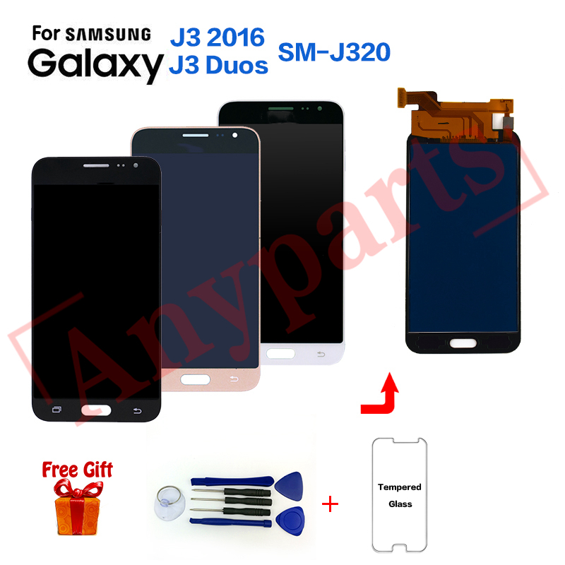 For <font><b>Samsung</b></font> J3 2016 J320 Display Screen <font><b>lcd</b></font> replacement for <font><b>Samsung</b></font> <font><b>SM</b></font>-J320G J320M <font><b>J320FN</b></font> J320A <font><b>lcd</b></font> display Screen module image