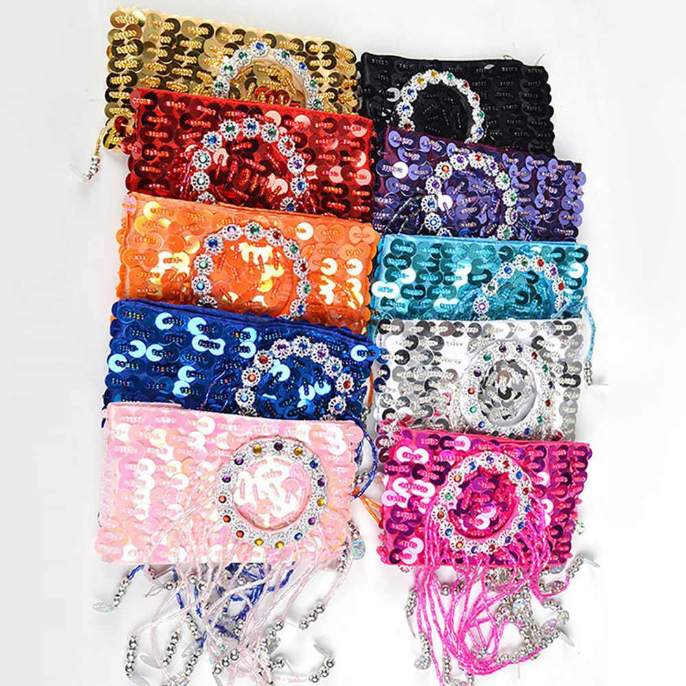 Cheap Belly Dance Bracelet For Ladies Multi Color Hand Chain Beauty Women Professional Ballroom Feminine Bracelet N2028