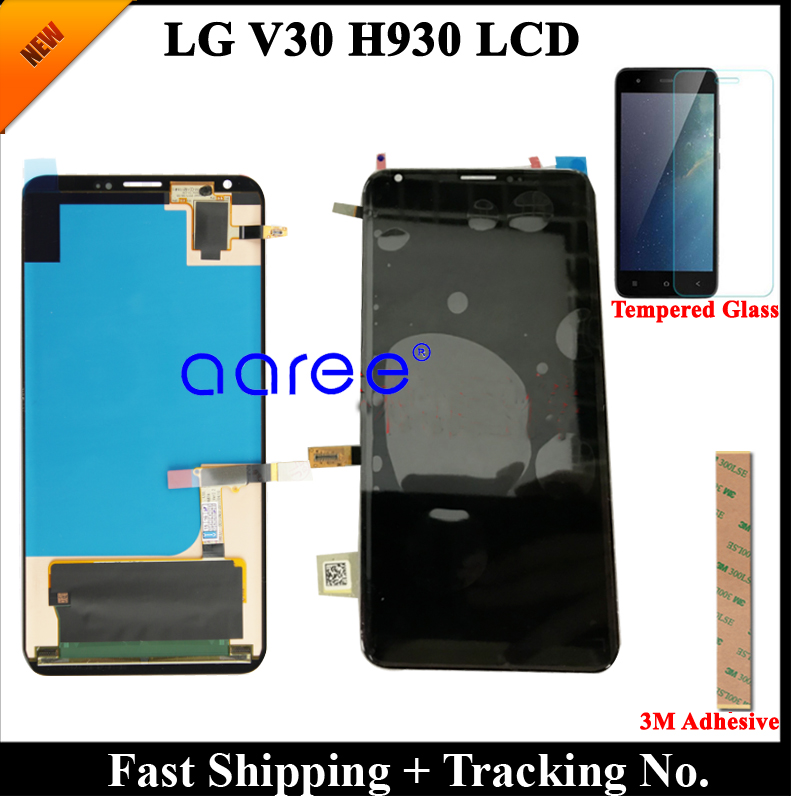 100 Tested 6 0 LCD Screen For LG V30 LCD H930 LCD Touch Screen Digitizer Assembly