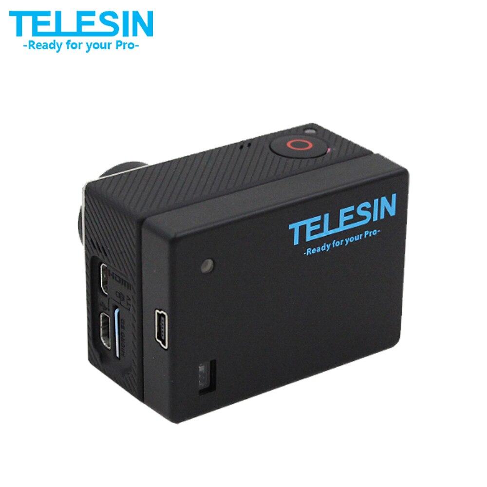 TELESIN 1300 mAh 3,8 V extendida Bacpac batería reemplazo con impermeable Backdoor caso de vivienda para GoPro Hero 4 3 3 +