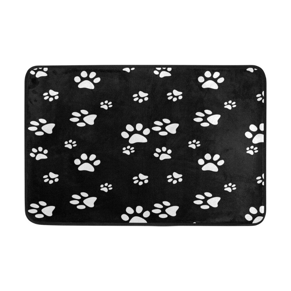 Personalized Dog Paw Prints Doormat Machine Washable Non Slip Doormat  Indoor Outdoor Floor Mat Rugs In Mat From Home U0026 Garden On Aliexpress.com |  Alibaba ...
