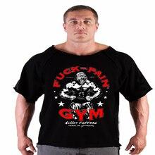 2016 Summer golds  fitness men gasp Print bodybuilding wear shirt Brand  vest   Plus Size Rag tops