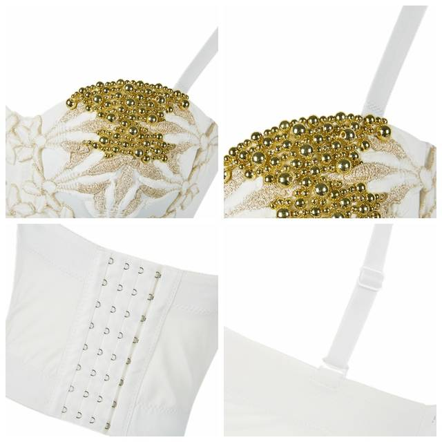 087c0c1443 CIEMIILI Diamonds Beading Tops Summer Sleeveless Top Women Night Club Sexy  Crop Top Bra Short Bralet