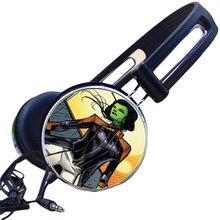 Vingadores personalizados Mantis Brandt Lorelei Gaming Headset Fone de ouvido Estéreo Fones De Ouvido para o Telefone Móvel Mp3 PC Guardians Of the Galaxy